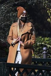 Melissa Satta - Out in Milan 11/26/2020