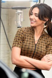 "Michelle Keegan - Filming ""Brassic"" TV Show in Manchester 11/10/2020"