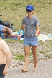 Natalie Portman at Shark Beach in Australia 11/22/2020
