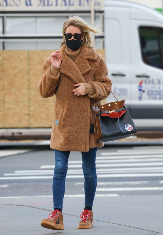 Nicky Hilton Street Style - New York 11/03/2020