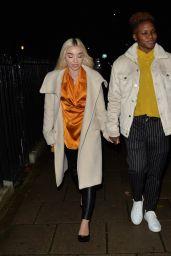 Nicola Adams and Ella Baig - Mayfair, London 11/04/2020