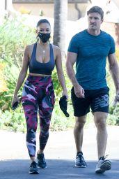 Nicole Scherzinger - Leaving a Gym in LA 11/05/2020