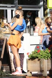 Nina Agdal - Out in The Hamptons 11/07/2020