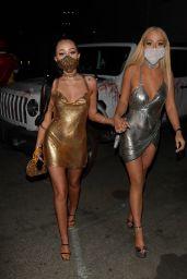 Noah Cyrus and Tana Mongeau - Halloween in Hollywood 10/31/2020