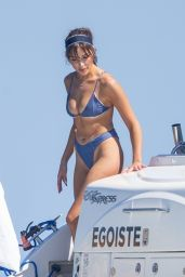 Olivia Culpo on a Yacht in Cabo San Lucas 10/31/2020