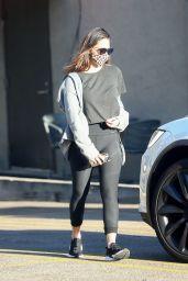 Olivia Munn - Leaving the Gym in LA 11/16/2020