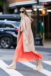 Olivia Palermo On a Stroll in NY 11/17/2020