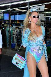 Paris Hilton - Leaving a Halloween Party in LA 10/31/2020