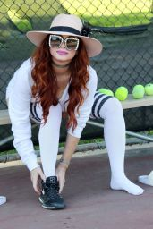 Phoebe Price at the Tennis Courts 11/20/2020