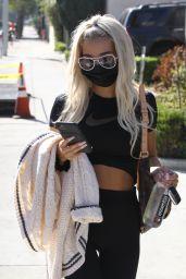 Pia Mia at Dogpound Gym in LA 11/04/2020