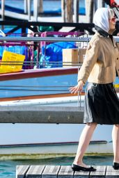 Pom Klementieff Cute Street Style - Venice 11/13/2020