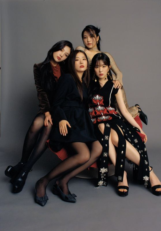 Red Velvet - Photoshoot for Interview Magazine December 2020