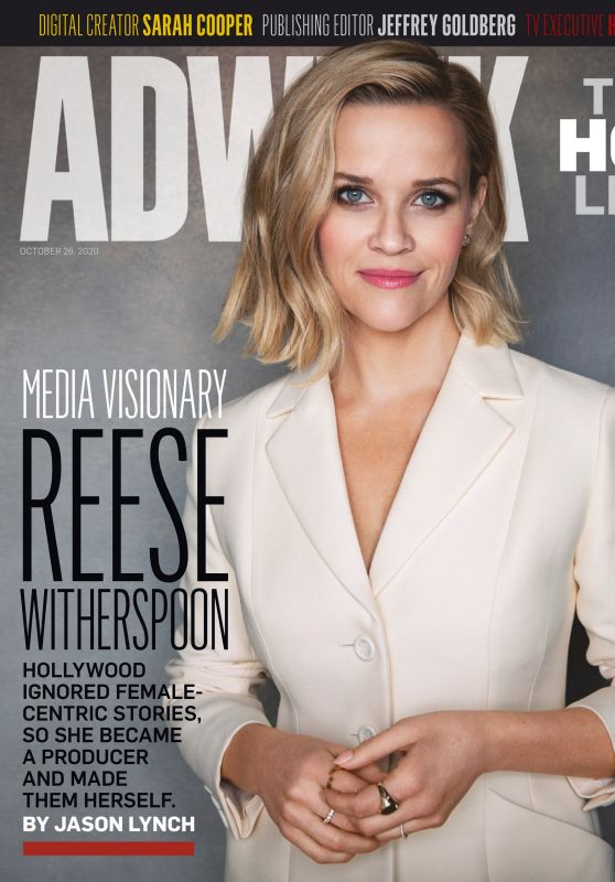 Reese Witherspoon - Adweek Magazine 10/26/2020 Issue