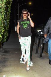 Rihanna at Giorgio Baldi in Santa Monica 11/17/2020