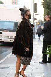 Rihanna at NoMad Sky Bar in LA 10/31/2020