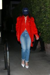 Rihanna Night Out Style - Giorgio Baldi in Santa Monica 11/24/2020