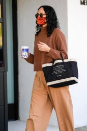 Rumer Willis in Casual Outfit - Beverly Hills 11/17/2020