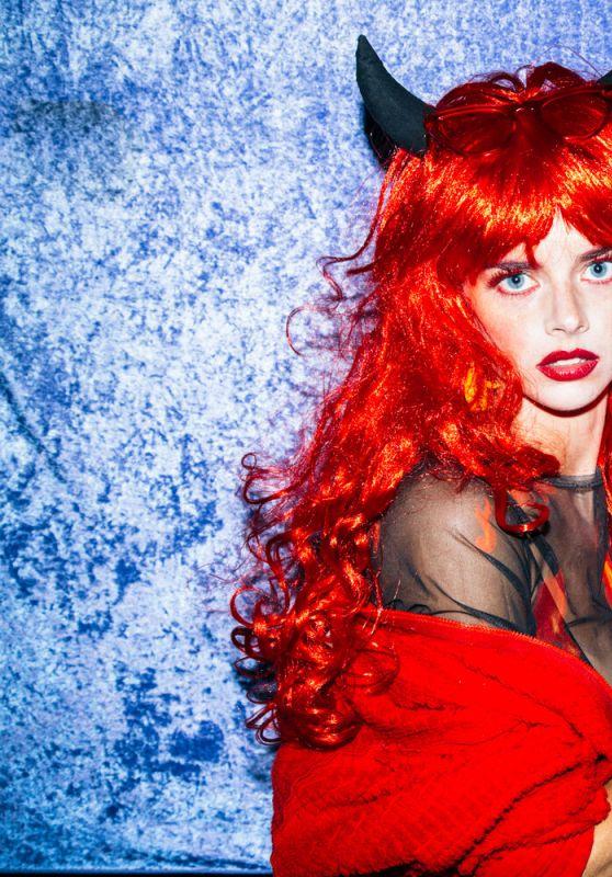 Samara Weaving - Xinger Xanger Halloween Photoshoot 2020