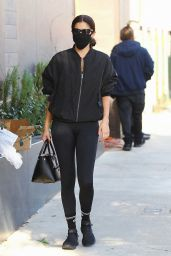 Sara Sampaio - Arrives at Dogpound Gym in West Hollywood 11/18/2020