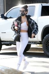 Sara Sampaio in Gym Ready Outfit - Los Angeles 11/13/2020