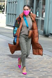 Sarah Jessica Parker Street Fashion - New York 11/19/2020