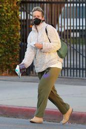 Sarah Paulson - Leaving the Balayage by Nancy Braun Hair Salon in Beverly Hills 11/10/2020