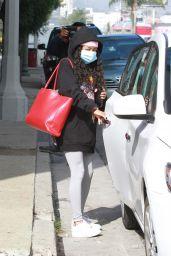 Skai Jackson - Leaving Her Dance Practice in LA 11/03/2020