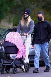 Sophie Turner and Joe Jonas Walk With Their Daughter Willa in LA 11/26/2020