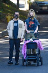 Sophie Turner on Her Daily Walk - LA 11/21/2020