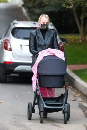 Sophie Turner - With Her Daughter in LA 11/23/2020