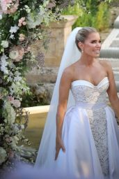 Sylvie Meis - Wedding Ceremony in Florence 09/19/2020