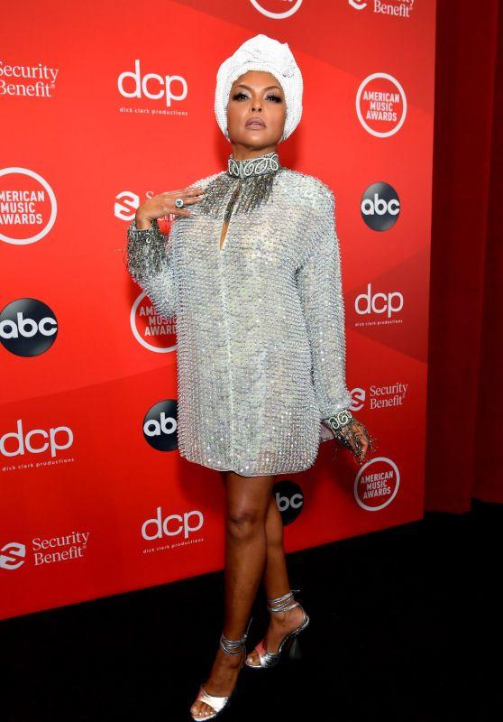 Taraji P. Henson – American Music Awards 2020 in Los Angeles