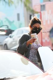 Vanessa Hudgens and GG Magree at Blue Bottle in Los Feliz 11/22/2020