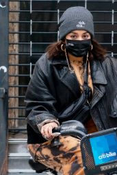 Vanessa Hudgens and GG Magree - Out in NYC 11/15/2020