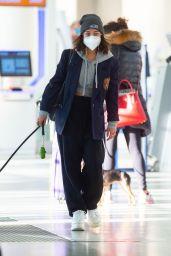 Vanessa Hudgens at JFK Airport in NY 11/16/2020