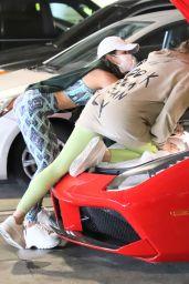 Vanessa Hudgens - Christmas Shopping in Beverly Hills 11/24/2020