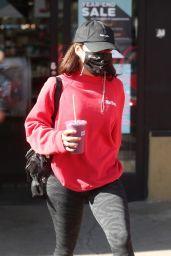 Vanessa Hudgens Grabs a Juice in West Hollywood 11/18/2020