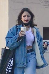 Vanessa Hudgens Street Style - Shopping in Burbank 11/28/2020