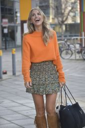 """Vogue Williams - Leaves Filming of """"Steph"""