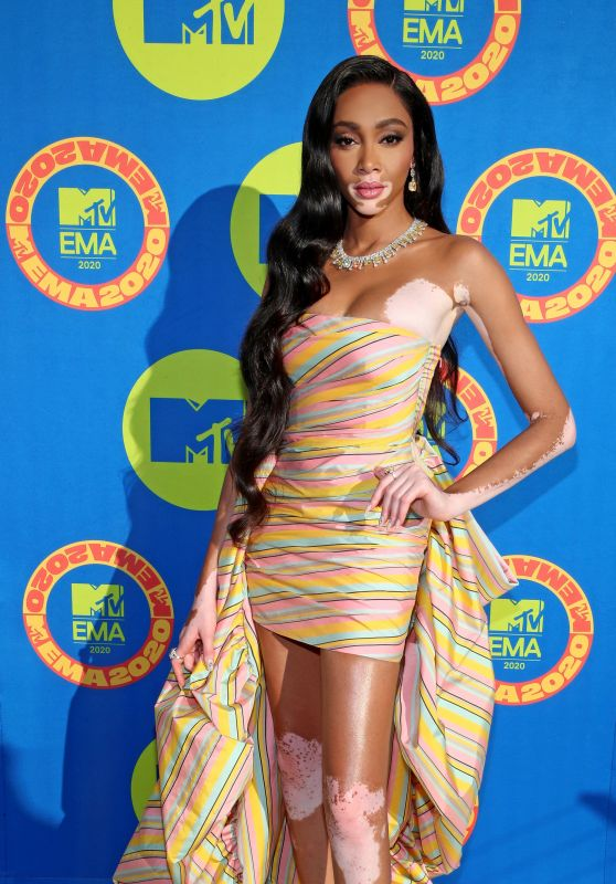 Winnie Harlow – 2020 MTV EMAs in Los Angeles
