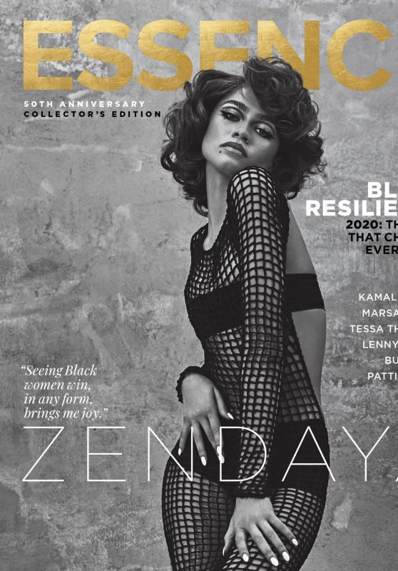 Zendaya - Essence by AB+DM November/December 2020 Cover and Video