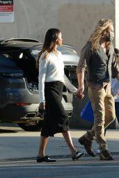 Zoe Saldana - Celebrating Birthday With Her Husband Marco Peregos in LA 11/13/2020