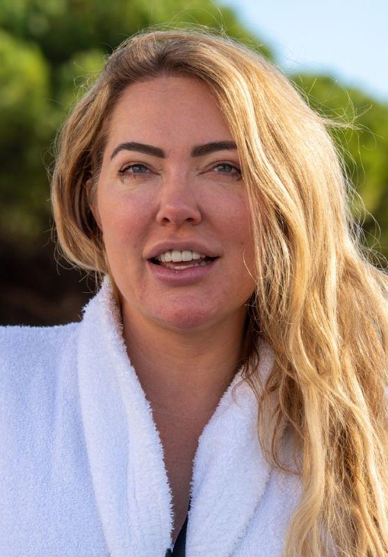 Aisleyne Horgan-Wallace at the Cirumed Clinic in Marbella 12/18/2020