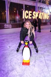 Aisleyne Horgan-Wallace - Lakeside Skating Ring Press Night in Essex 10/12/2020