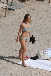 Alexis Ren in a Bikini at Shellona Beach in St. Barth 12/20/2020