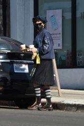 Alia Shawkat - Out in Los Feliz 12/29/2020