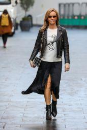 Amanda Holden Cute Style - London 12/14/2020