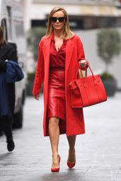 Amanda Holden in All Red - London 12/09/2020