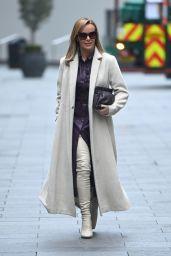 Amanda Holden - Leaving Global Studios in London 12/07/2020