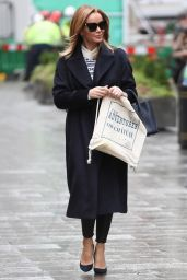 Amanda Holden - Out in London 12/18/2020